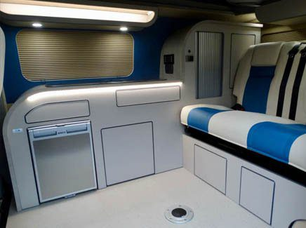 the rufford campervan conversion