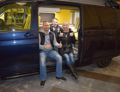 VW T6 Campervan Conversion, The Atkin family.