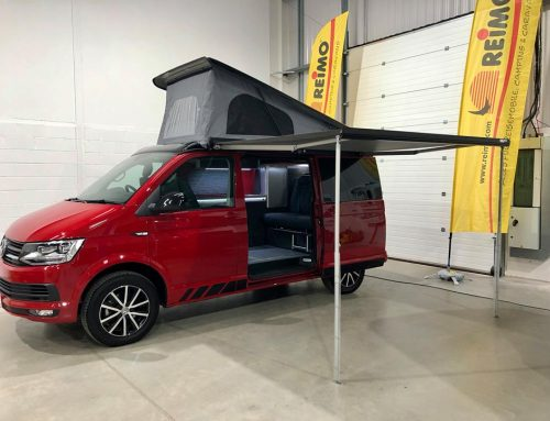 VW T6 Camper van Conversion, The Ormrod family