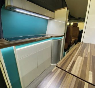The Welbeck Interior rear kitchen and toilet